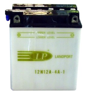 12N12A-4A-1 motor accu zonder zuurpakket