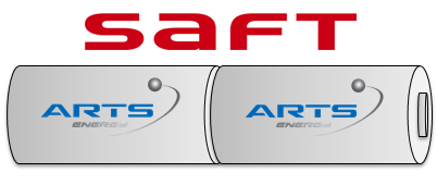 SAFT Noodverlichting accu Staaf NiCd  2,4V 1500mAh