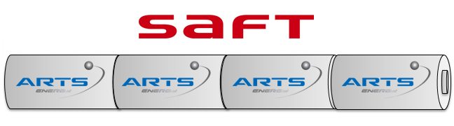 Saft Noodverlichting accu Staaf  NiMH AA 4,8V 1150mAh