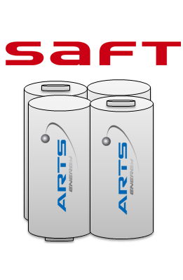 SAFT Noodverlichting accu 2 x 2 pack NiMH AA 4,8V 1200mAh