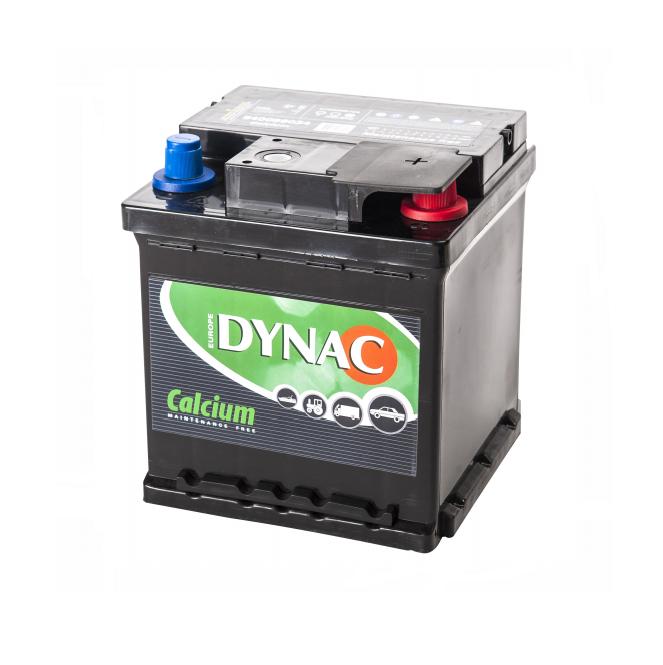 Auto accu / Startaccu 12V 40Ah Dynac calcium 54059