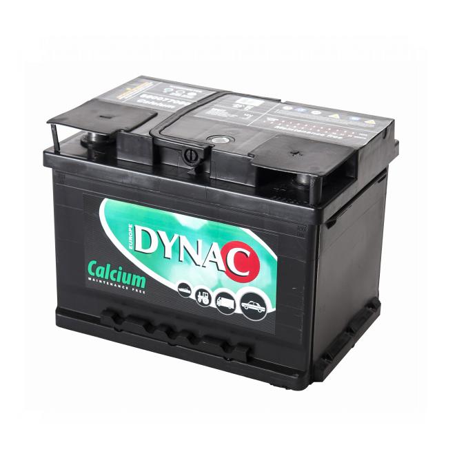 Auto accu / Startaccu 12V 60Ah Dynac calcium LMFV 56077