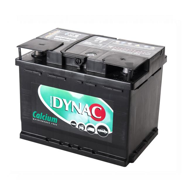 Auto accu / Startaccu 12V 62Ah Dynac calcium LMFV 56219