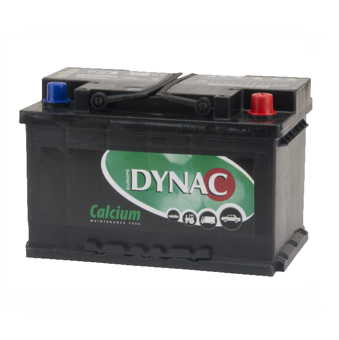 Auto accu / Startaccu 12V 64Ah Dynac calcium LMFV 56420