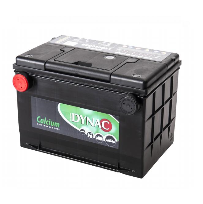 Auto accu / Startaccu 12V 65Ah Dynac calcium LMFV 57010