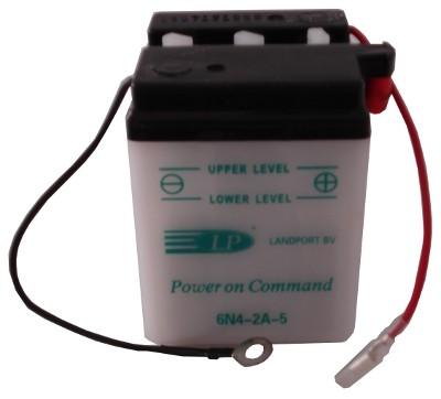 6N4-2A-5 motor accu zonder zuurpakket