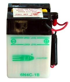 6N4C-1B motor accu met zuurpakket