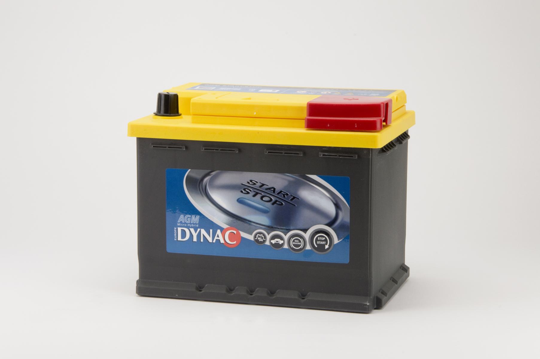 Dynac AGM Start-Stop accu (12V 60Ah)