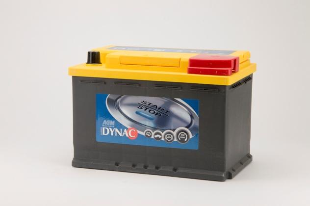 Dynac AGM Start-Stop accu (12V 70Ah)