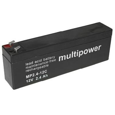 AGM Loodaccu Multipower MP2.4-12C Loodaccu 12V 2400mAh