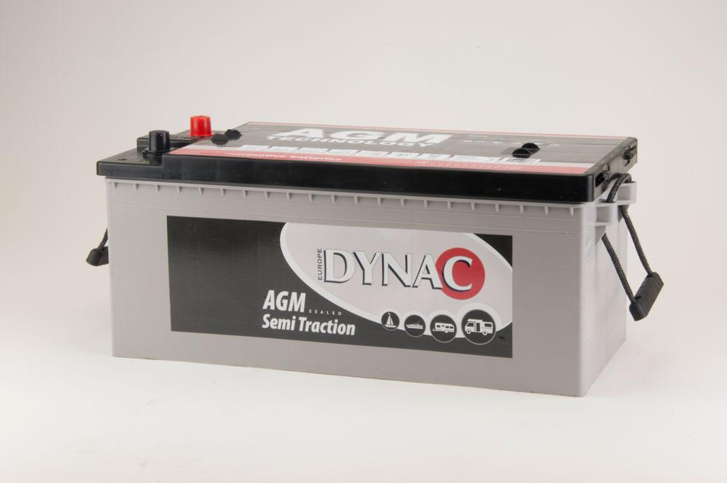 AGM Semi tractie accu (12V 130Ah)