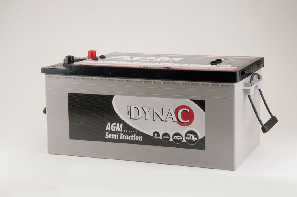 AGM Semi tractie accu (12V 220Ah)