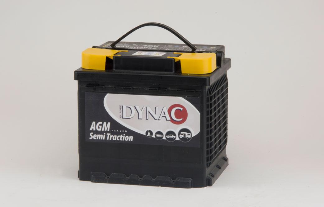 AGM Semi tractie accu (12V 40Ah)