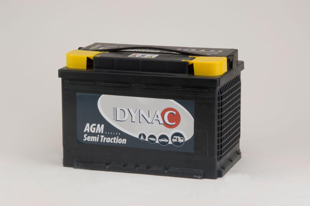 AGM Semi tractie accu (12V 60Ah)