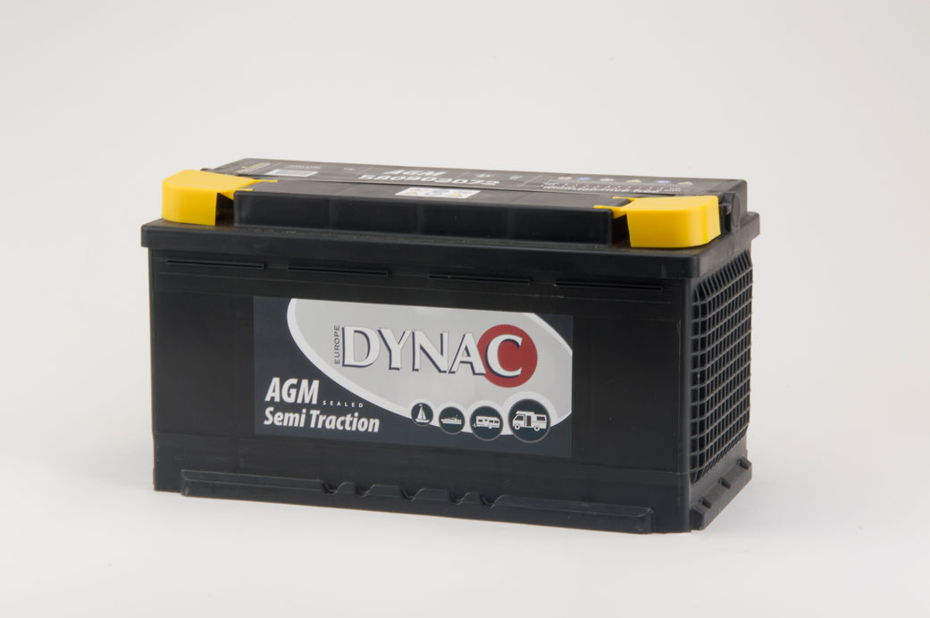 AGM Semi tractie accu (12V 80Ah)