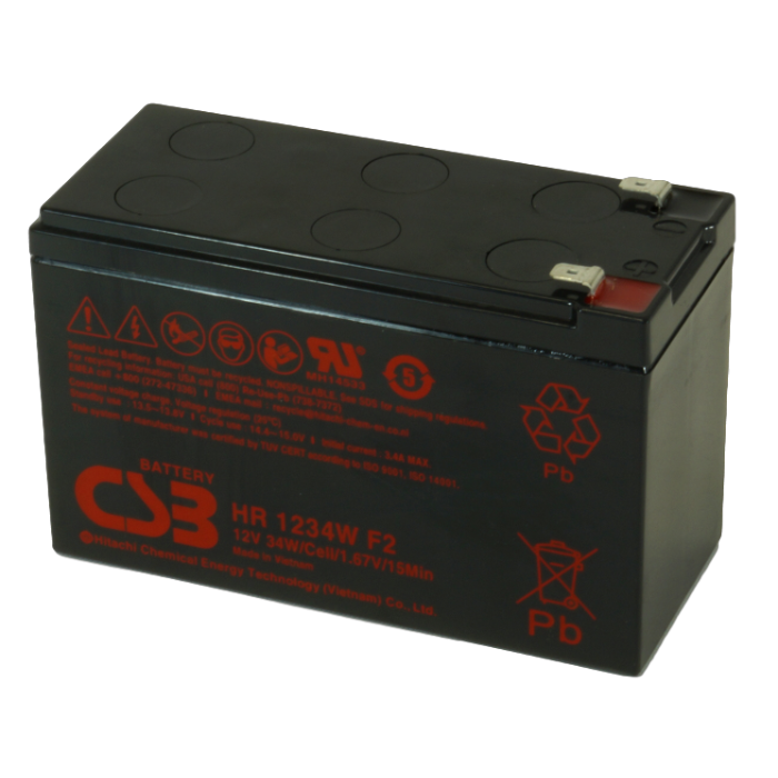 APC RBC17 UPS noodstroom accu CSB Battery