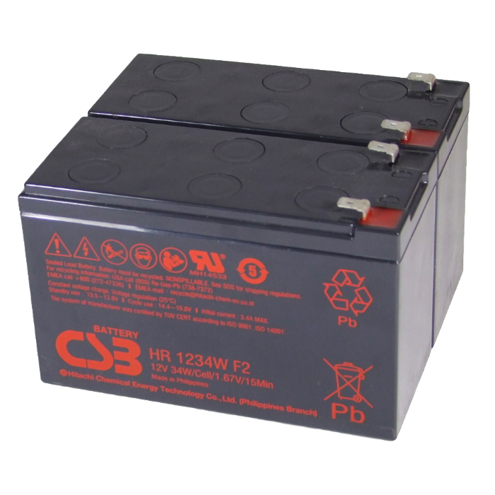 APC RBC32 UPS noodstroom accu CSB Battery
