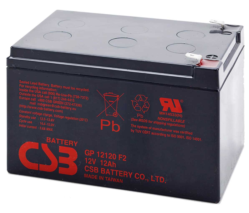 APC RBC4 UPS noodstroom accu CSB Battery