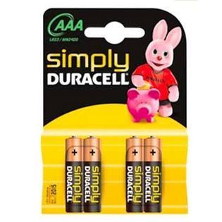 Duracell MN2400 Simply AAA (4 stuks)