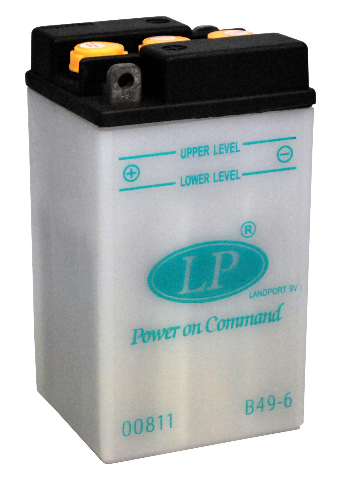 B49-6 motor accu met zuurpakket
