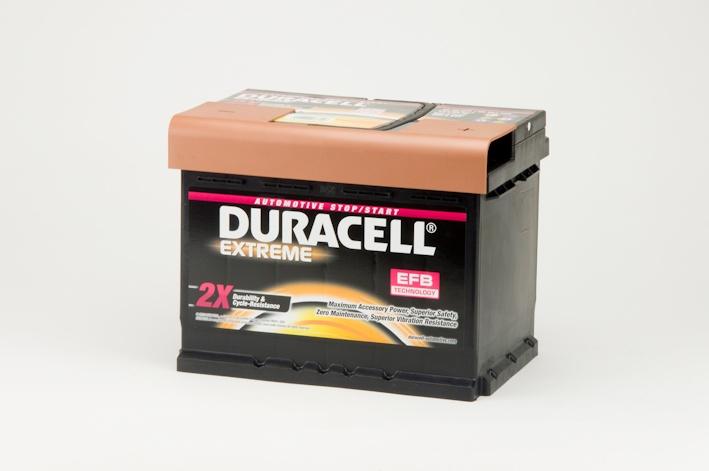 Auto accu Duracell Extreme DE 60 EFB (12V 60Ah)