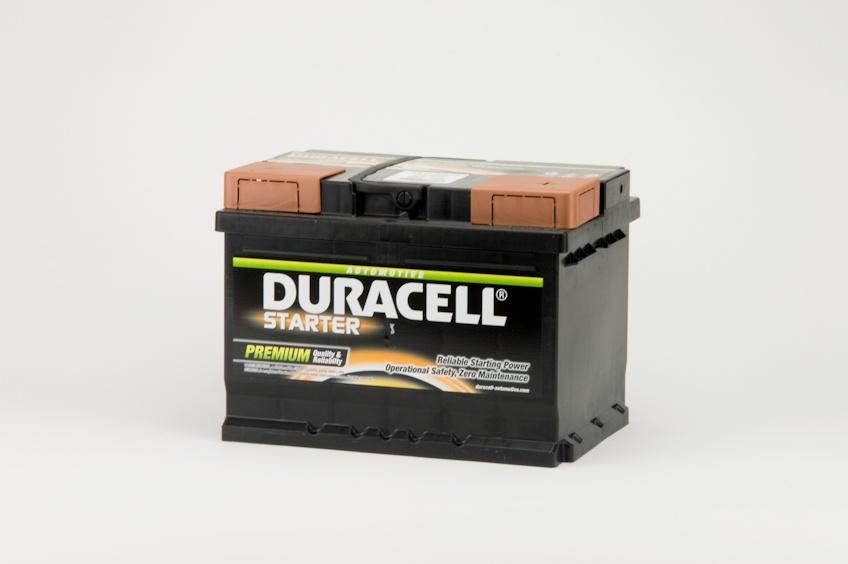 Auto accu Duracell Starter BDS 55 12V 55Ah