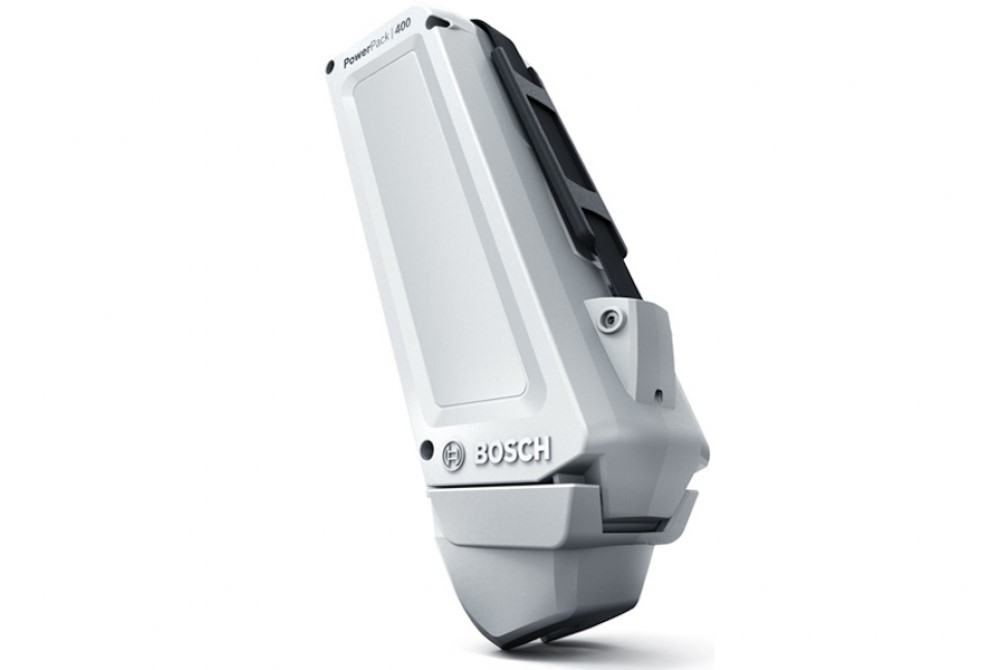 Fietsaccu Bosch PowerPack 400 Classic+ Line frame Wit 36V 11Ah