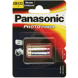 CR123A Lithium Batterij Panasonic
