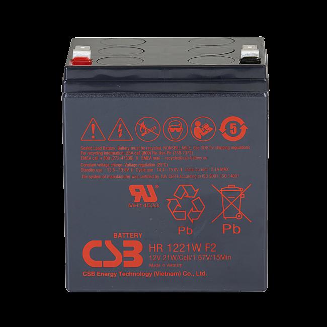 UPS noodstroom accu 1 x HR1221WF2 van CSB Battery
