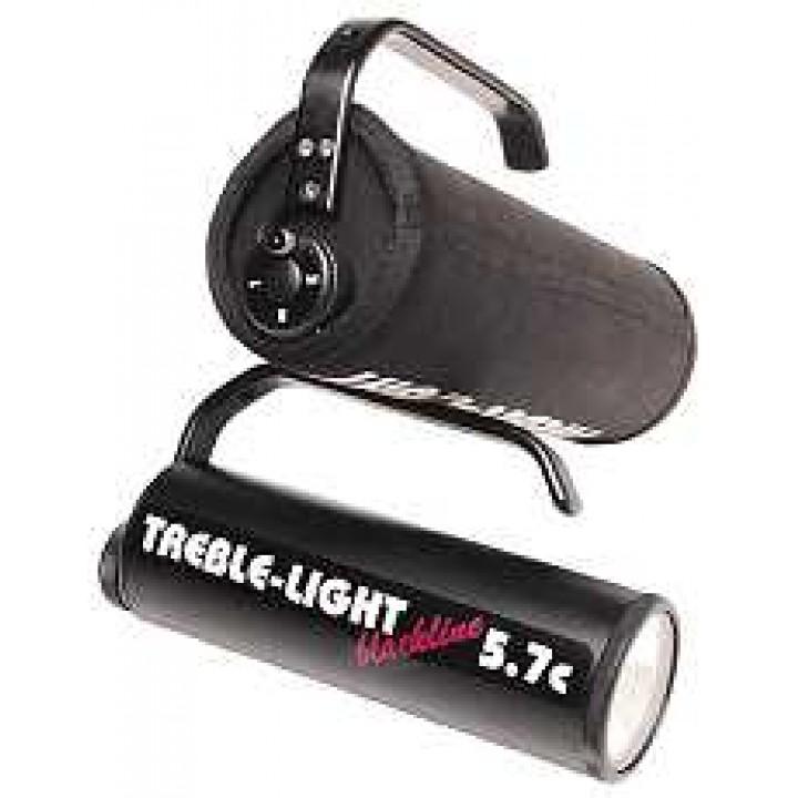 duiklamp accu voor treble light black line 5 7c. Black Bedroom Furniture Sets. Home Design Ideas