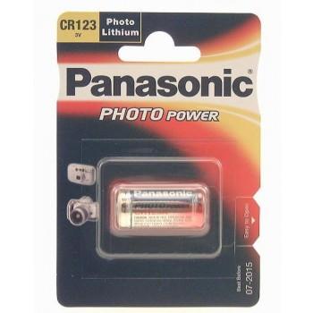 Panasonic CR123 lithuim fotocamera accu