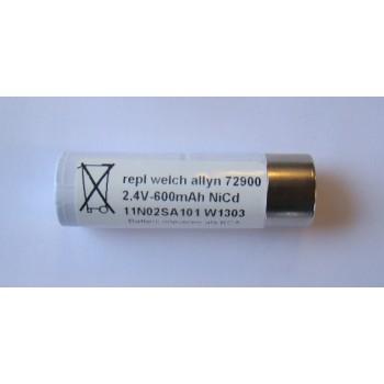 Welch Allyn type 72900 Repl. batterij