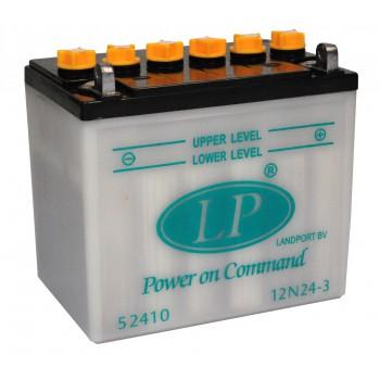12N24-3 motor accu met zuurpakket