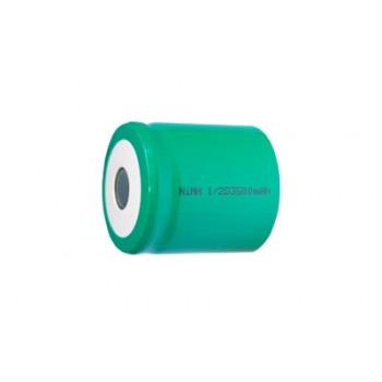 NiMH 1/2 D batterij 1,2V 3500mAh ( met soldeerlippen )