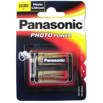 2CR5 Lithium Batterij Panasonic