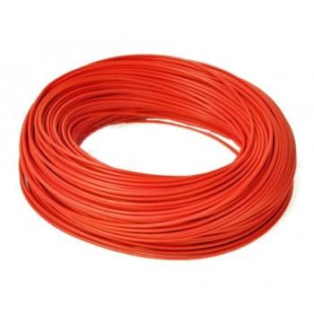 H05V-K Enkelader 1.0 mm2 rood (100M)