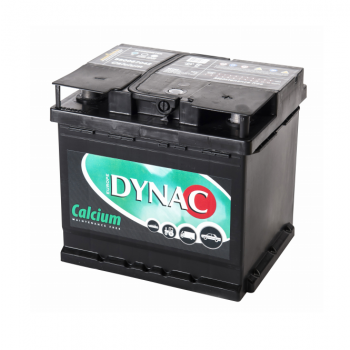 Auto accu / Startaccu 12V 50Ah Dynac calcium LMFV 55067
