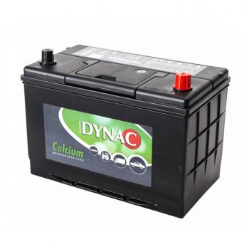 Auto accu / Startaccu 12V 100Ah Dynac calcium 60032