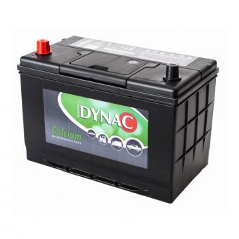 Auto accu / Startaccu 12V 100Ah Dynac calcium 60033