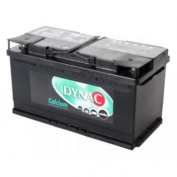Auto accu / Startaccu 12V 100Ah Dynac calcium 60038