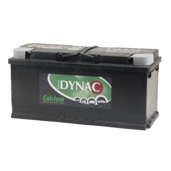 Auto accu / Startaccu 12V 110Ah Dynac calcium 61042