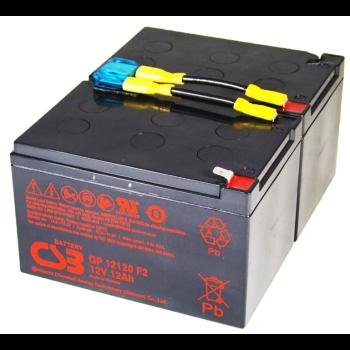APC RBC6 UPS noodstroom accu CSB Battery