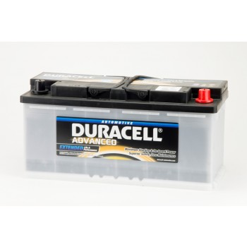 Auto accu Duracell Advanced DA 110 (12V 110Ah)