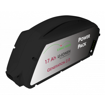 Compatibel fietsaccu Bosch PowerPack Classic+ Line frame 36V 17Ah