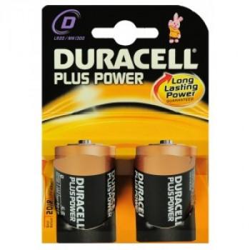 Duracell MN1300 Plus D (2 stuks)