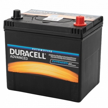 Auto accu Duracell Advanced BDA 60 12V 60Ah