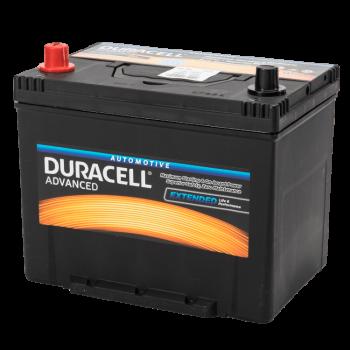 Auto accu Duracell Advanced BDA 70L 12V 70Ah