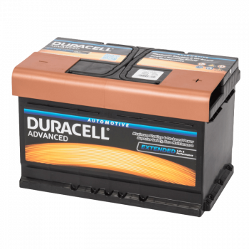 Auto accu Duracell Advanced BDA 72 12V 72Ah