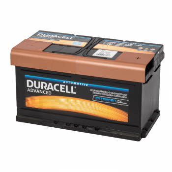 Auto accu Duracell Advanced BDA 80 12V 80Ah