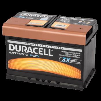 Auto accu Duracell Extreme BDE 70 AGM (12V 70Ah)